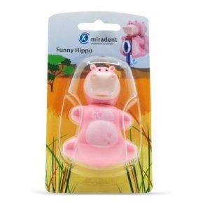 Фотография Funny Hippo (Бегемот) - гигиенический футляр для зубных щёток с дверкой-защёлкой   Hager & Werken (Германия)
