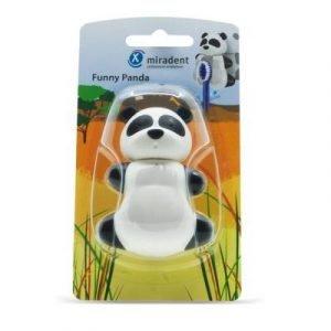 Фотография Funny Panda (Панда) - гигиенический футляр для зубных щёток с дверками-защёлками   Hager & Werken (Германия)