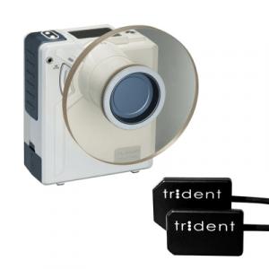 Фотография Комплект DX-3000 и Trident I-View - высокочастотный портативный дентальный рентген с визиографом