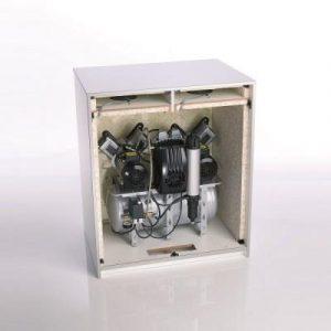 Фотография Шумопоглощающий шкаф (кожух) с контролируемым охлаждением для компрессоров Trio