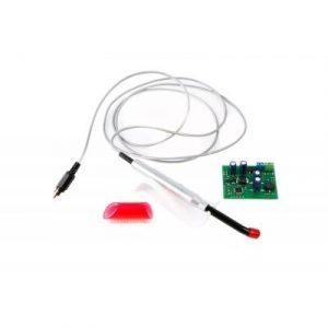 Фотография LED-актив-04А - аккумуляторная светодиодная лампа со световым излучением зеленого цвета