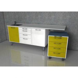 Фотография Margaret  - комплект мебели для хранения стоматологических инструментов