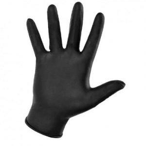 Фотография NitriMAX - нитриловые перчатки черные для дентальной фотографии премиум класса