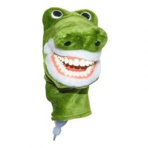 Фотография Putzi-Petz Крокодил - перчаточная кукла в виде крокодила с челюстью-типодонтом   Hager & Werken (Германия)
