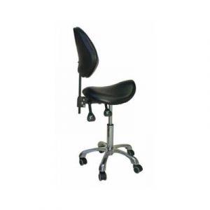 Фотография WS-17 - стул врача-стоматолога с сиденьем седловидной формы и мягкой спинкой   Romax (Китай)