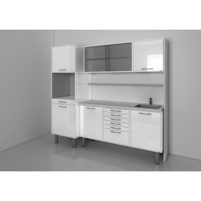 Фотография STERIL CENTER 5 - комплект мебели для стерилизации и хранения стоматологических инструментов