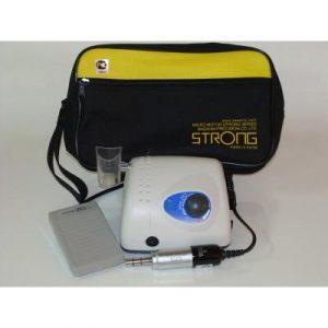 Фотография STRONG 210 108NE - щеточный микромотор с наконечником 108NE (терапевтический) и педалью включения–выключения