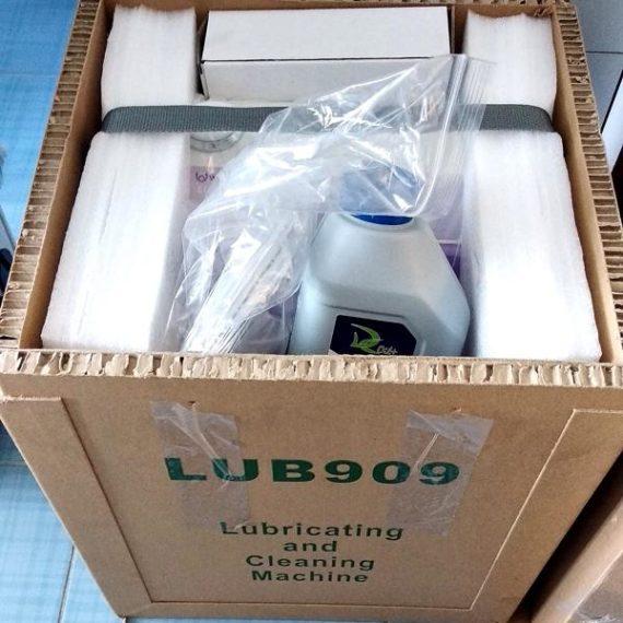 Фото - Woson LUB909 - аппарат для смазки и чистки наконечников (до 3-х инструментов одновременно) | Woson (Китай)