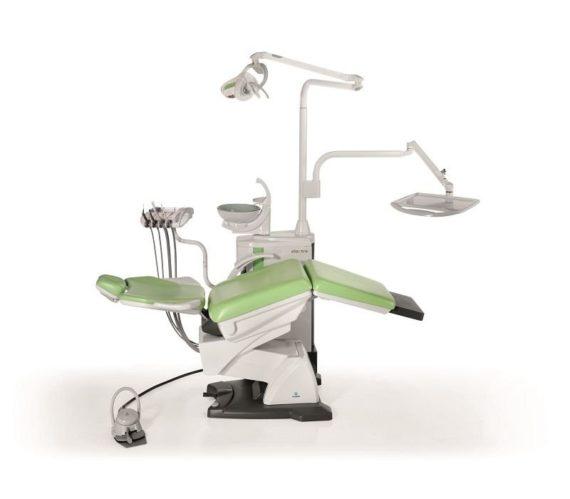 Фото Fedesa Astral Electra Air - ультракомпактная стоматологическая установка с нижней/верхней подачей инструментов