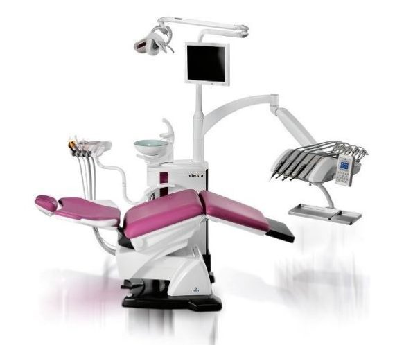 Фото Fedesa Astral Electra Lux - ультракомпактная стоматологическая установка с нижней/верхней подачей инструментов