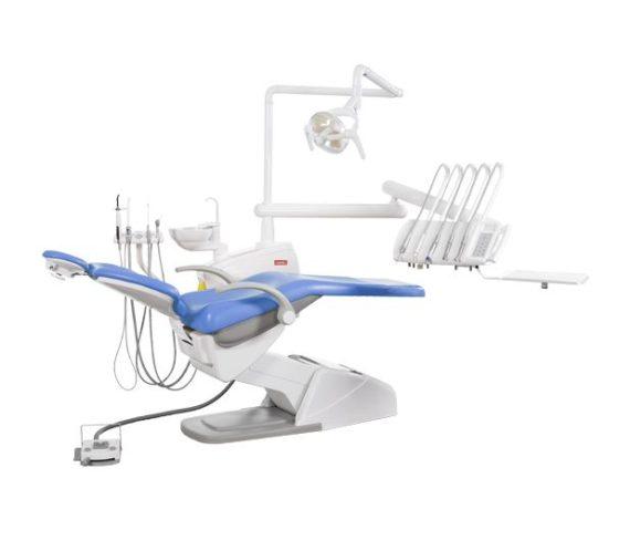 Фото SV-10 - стоматологическая установка с верхней подачей инструментов