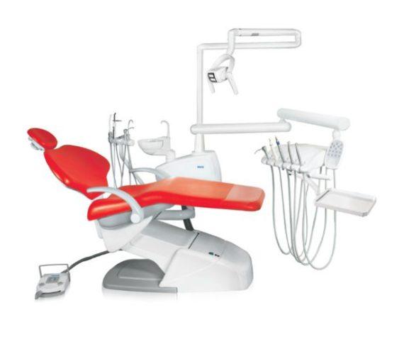 Фото SV-20 - стоматологическая установка с нижней подачей инструментов