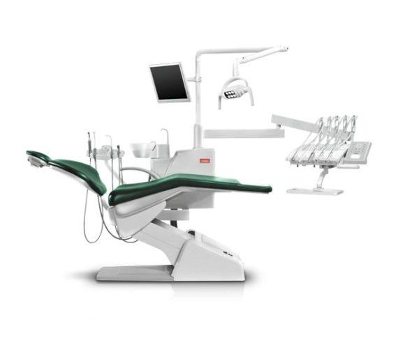 Фото SV-20 - стоматологическая установка с верхней подачей инструментов