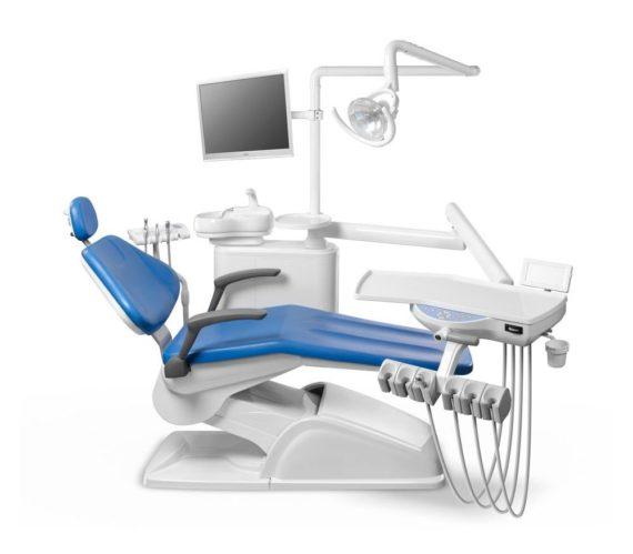 Фото AL 398 - стоматологическая установка с нижней подачей инструментов
