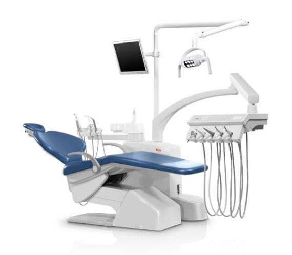 Фото SV-30 - стоматологическая установка с нижней подачей инструментов