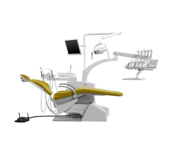Фото SV-30 - стоматологическая установка с верхней подачей инструментов