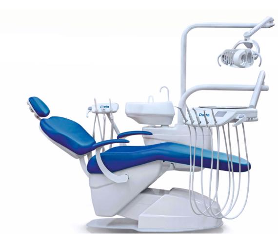 Фото Darta 1610 M - стоматологическая установка с нижней подачей инструментов
