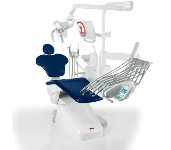 Фото Anthos Classe A5 - стоматологическая установка с верхней подачей инструментов