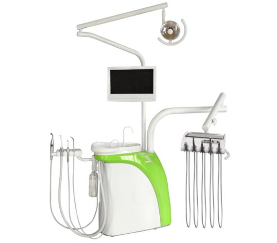 Фото Chiromega 654 Solo - стоматологическая установка с креслом и 3-мя инструментами