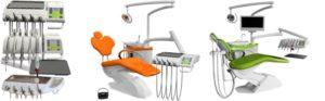 Фото - Chiromega 654 Nika - стоматологическая установка на 5 инструментов