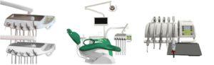 Фото - Chiromega 654 Solo - стоматологическая установка с креслом и 3-мя инструментами