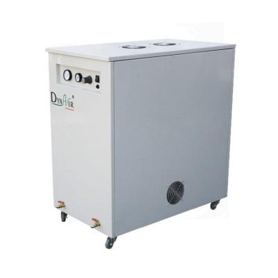 Фото - DA7002DCS - безмасляный компрессор для 3-х стоматологических установок, с осушителем, с кожухом, с ресивером 60 л, 274 л/мин | Jiangsu Dynamic Medical Technology (Китай)