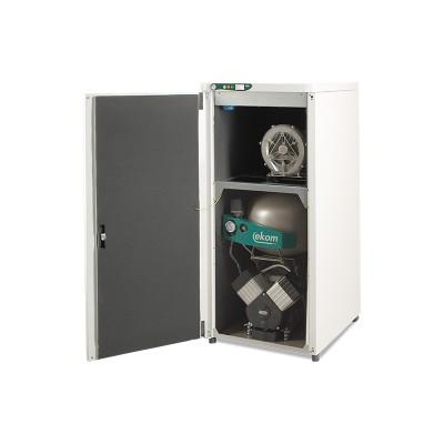 Фото - EKOM DUO 2 - компрессор двумя помпами отсасывателя в одном корпусе для двух стоматологических установок (140 л/мин) | EKOM (Словакия)