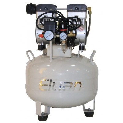 Фото - Eluan JYK35 - безмасляный компрессор для одной стоматологической установки, без осушителя, с ресивером 35 л, 80 л/мин | Eluan (Китай)