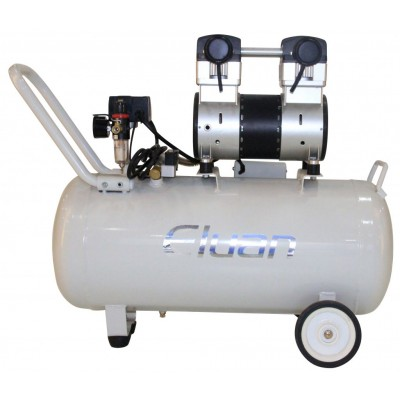 Фото - Eluan JYK65A - безмасляный компрессор для 2-х стоматологических установок, без осушителя, с ресивером 65 л, 155 л/мин | Eluan (Китай)