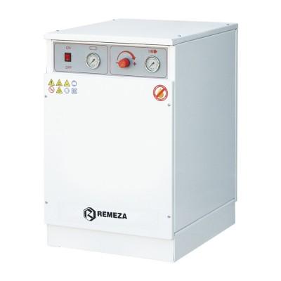 Фото - Remeza КМ-16.VS204КД - безмасляный компрессор для 2-х стоматологических установок, с осушителем мембранного типа, с кожухом, с ресивером 16 л, 145 л/мин | Remeza (Белоруссия)