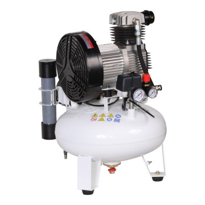 Фото - Remeza КМ-24.GMS150Д - безмасляный компрессор для одной стоматологической установки, с осушителем мембранного типа, с ресивером 24 л, 105 л/мин | Remeza (Белоруссия)