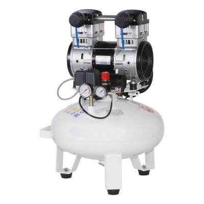 Фото - Remeza KM-24.OLD10 - безмасляный компрессор для одной стоматологической установки, без осушителя, с ресивером 24 л, 75 л/мин | Remeza (Белоруссия)