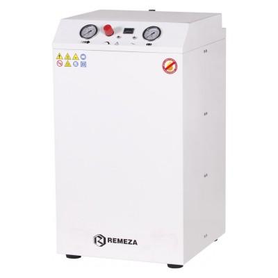 Фото - Remeza КМ-24.OLD20К - безмасляный компрессор для 2-х стоматологических установок, без осушителя, с кожухом, с ресивером 24 л, 180 л/мин | Remeza (Белоруссия)