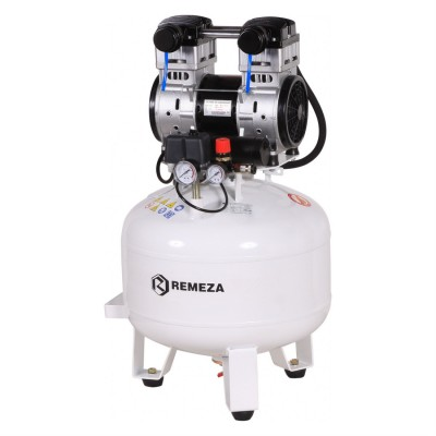Фото - Remeza КМ-50.OLD15 - безмасляный компрессор для 1-2 стоматологических установок, без осушителя, с ресивером 50 л, 135 л/мин | Remeza (Белоруссия)