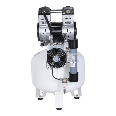 Фото - Remeza КМ-50.OLD15Д - безмасляный компрессор для 1-2 стоматологических установок, с осушителем мембранного типа, с ресивером 50 л, 120 л/мин | Remeza (Белоруссия)