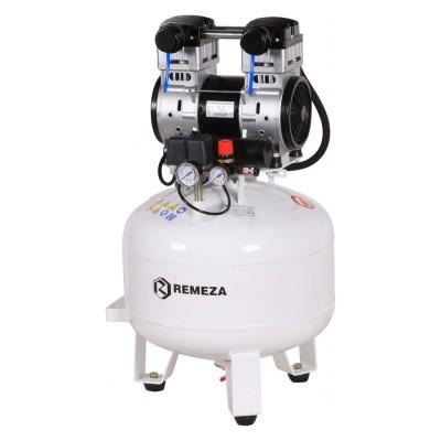 Фото - Remeza КМ-50.OLD20 - безмасляный компрессор для 2-х стоматологических установок, без осушителя, с ресивером 50 л, 180 л/мин | Remeza (Белоруссия)
