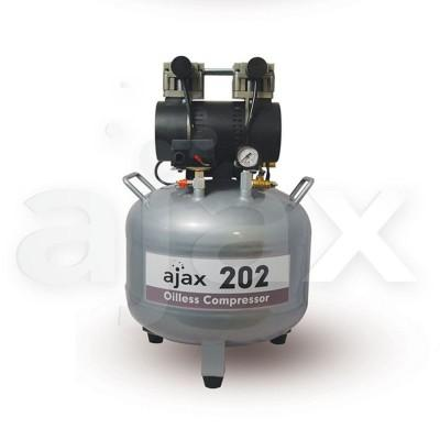 Product photo: Ajax 220 - безмасляный компрессор для одной стоматологической установки