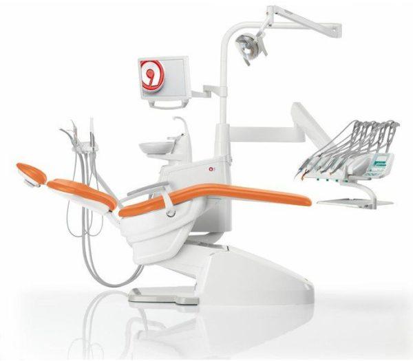 Product photo: Anthos Classe A3 Plus - стоматологическая установка с верхней подачей инструментов