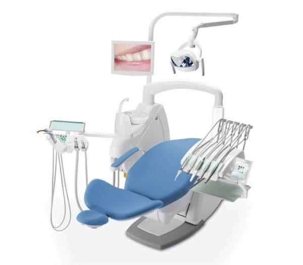 Product photo: Anthos Classe A9 - стоматологическая установка с верхней подачей инструментов