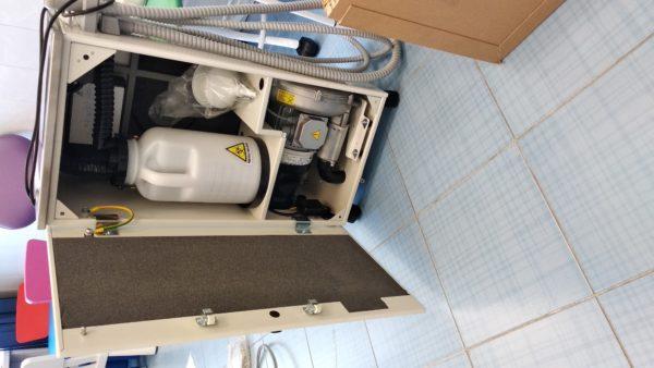 Фото - Aspi-Jet 6 – Аспиратор стоматологический мобильный влажного типа (автономный) | Cattani (Италия)