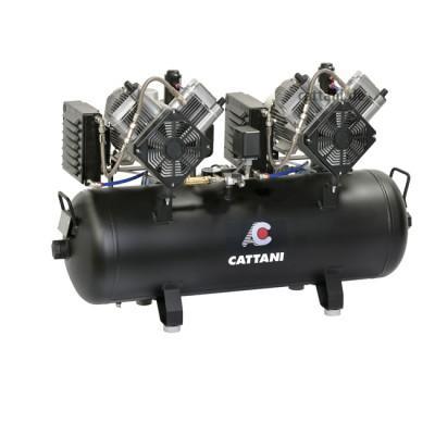 Product photo: Cattani 100-215 - безмасляный стоматологический компрессор для CAD/CAM