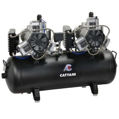 Product photo: Cattani 300-952 - безмасляный стоматологический компрессор для 16-ти стоматологических установок