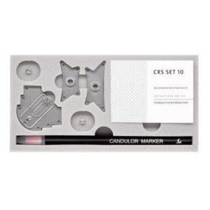 Product photo: CRS 10 - набор для внутриротовой записи готического угла при полном съемном протезировании | Candulor AG (Швейцария)