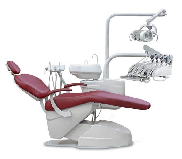 Product photo: Darta 1610 E M - стоматологическая установка с верхней подачей инструментов
