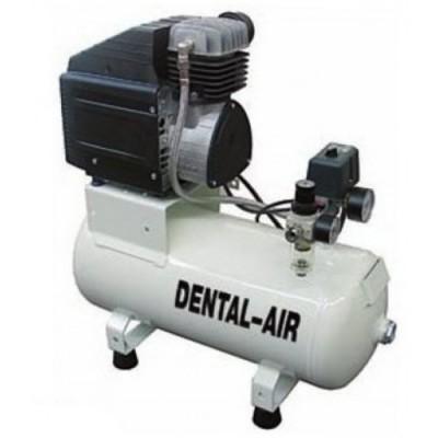 Фото - Dental Air 1/24/3-C - безмасляный воздушный компрессор с дополнительным звукоизолирующим сборным кожухом (100 л/мин) на 1 установку | Werther Int. (Италия)