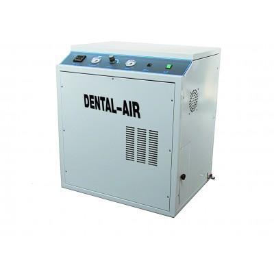 Product photo: Dental Air 2/24/379 - безмасляный воздушный компрессор на 2 установки