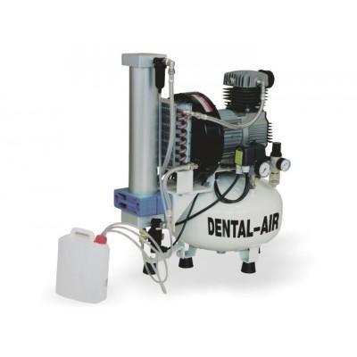 Product photo: Dental Air 3/24/57 - безмасляный воздушный компрессор на 3 установки