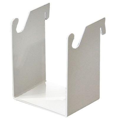 Product photo: ДЕРЖАТЕЛЬ 1.0 КОРЗИНА - приспособление для навешивания ЛОТОК 1.0 КОРЗИНА на задние стенки столов МАСТЕР и панели Аверон | Аверон (Россия)