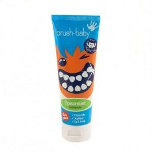 Product photo: Детская зубная паста Brush-Baby Spearmint для детей от 6 лет 75 мл.с доставкой в любой регион за 150р. Почтой России!!!