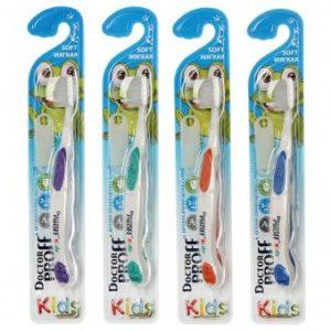 Product photo: Детская зубная щетка  Dr.Proff Kids Silver с Серебром с доставкой в любой регион за 150р. Почтой России!!!